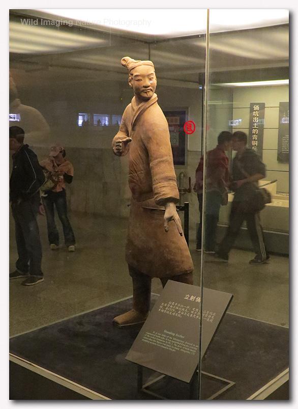 Terracotta Warriors standing archer